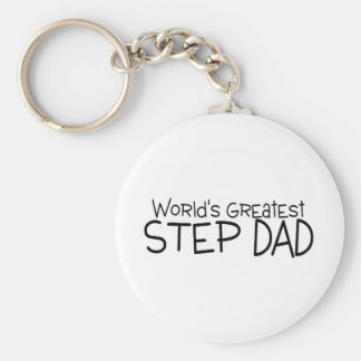 Worlds Greatest Step Dad Key Ring