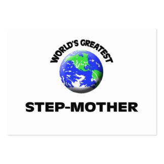 World's Greatest Step-Mother Business Card