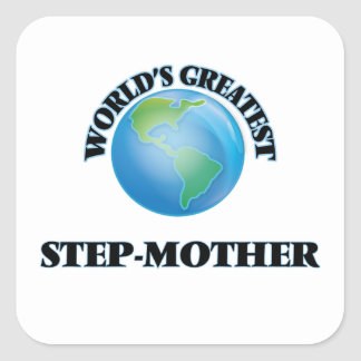 World's Greatest Step-Mother Square Sticker