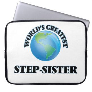 World's Greatest Step-Sister Computer Sleeve
