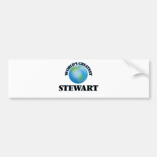 World's Greatest Stewart Bumper Sticker