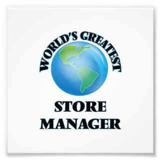 World's Greatest Store Manager Photo