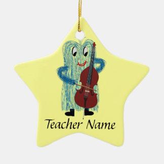 World's Greatest String Teacher! Christmas Ornament