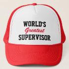 World's greatest supervisor cap