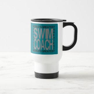Worlds Greatest Swim Coach Travel Mug
