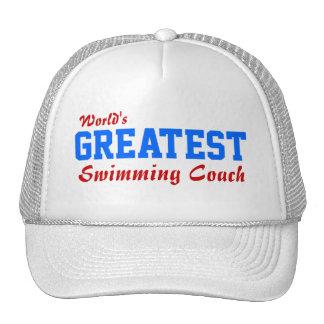 World's Greatest Swimming Coach Hats