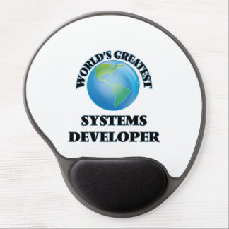 World's Greatest Systems Developer Gel Mouse Pad