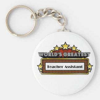 World's Greatest Teacher Assistant Key Ring