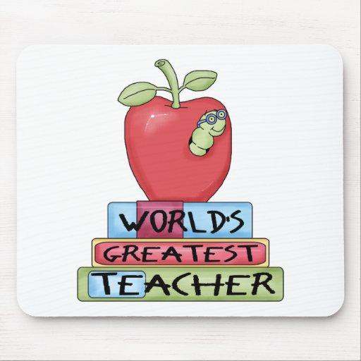 World's Greatest Teacher Mousepad