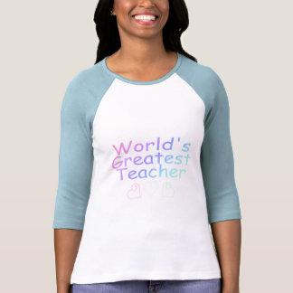Worlds Greatest Teacher (Pastel) Shirt
