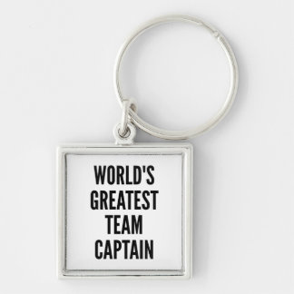 Worlds Greatest Team Captain Key Ring