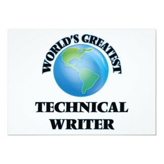 World's Greatest Technical Writer Announcements