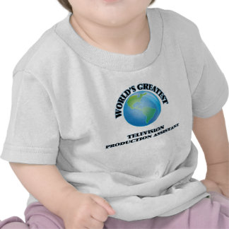 World's Greatest Television Production Assistant Tee Shirt