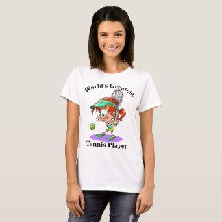 World's Greatest Tennis Player T-Shirt