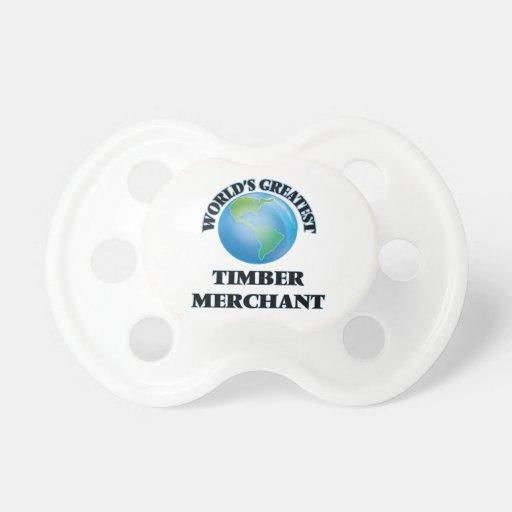 World's Greatest Timber Merchant Pacifier