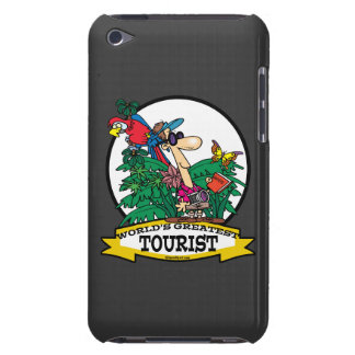 WORLDS GREATEST TOURIST MEN CARTOON BARELY THERE iPod COVERS