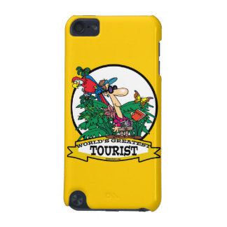 WORLDS GREATEST TOURIST MEN CARTOON iPod TOUCH 5G CASES