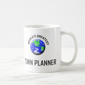 World's Greatest Town Planner Basic White Mug