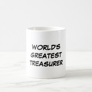 """World's Greatest Treasurer"" Mug"