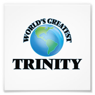 World's Greatest Trinity Photograph