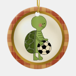 World's Greatest Turtle Soccer Player ornament