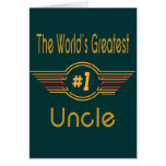 World's Greatest Uncle Cards