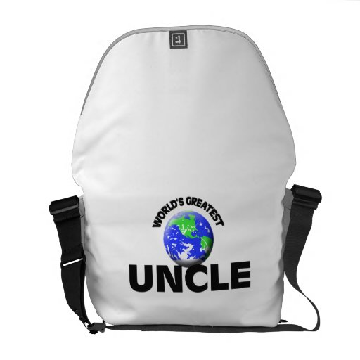 World's Greatest Uncle Courier Bags