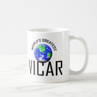 World's Greatest Vicar Coffee Mug