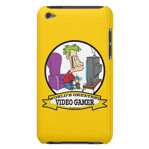 WORLDS GREATEST VIDEO GAMER KIDS CARTOON Case-Mate iPod TOUCH CASE