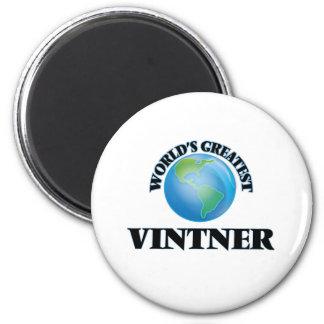 World's Greatest Vintner Refrigerator Magnet