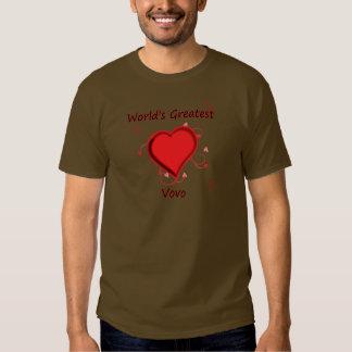 World's Greatest vovo T-shirt