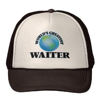 World's Greatest Waiter Trucker Hats