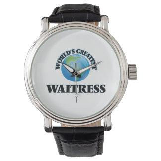 World's Greatest Waitress Watch