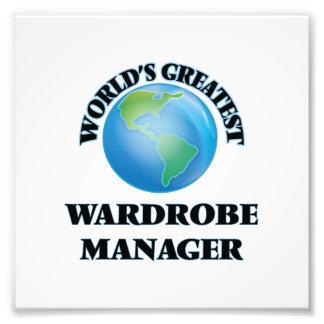 World's Greatest Wardrobe Manager Art Photo