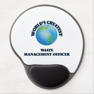 World's Greatest Waste Management Officer Gel Mouse Pads