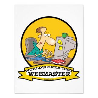 WORLDS GREATEST WEBMASTER MEN CARTOON ANNOUNCEMENT