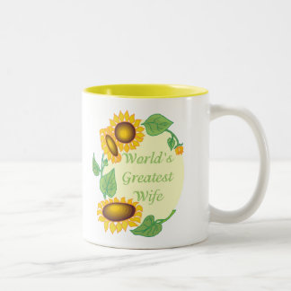 World's Greatest Wife Two-Tone Coffee Mug