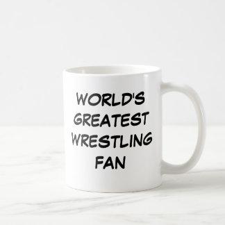 """""""World's Greatest Wrestling Fan"""" Mug"""