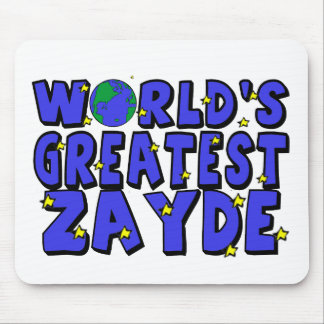 World's Greatest Zayde Mouse Mat