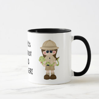 World's greatest zoo worker coffee mug