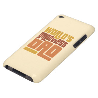 World's Grooviest Dad Retro Funny iPod Touch Case