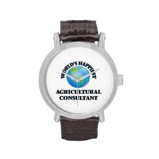 World's Happiest Agricultural Consultant Watch