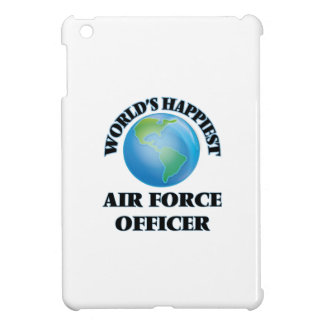 World's Happiest Air Force Officer iPad Mini Cover