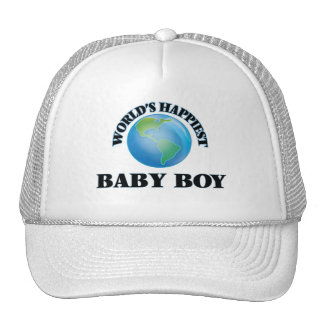 World's Happiest Baby Boy Cap