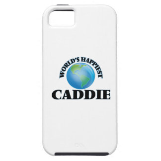 World's Happiest Caddie iPhone 5 Case