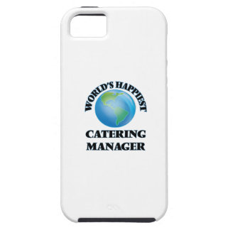 World's Happiest Catering Manager iPhone 5 Cover