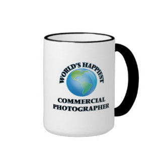 World's Happiest Commercial Photographer Ringer Coffee Mug