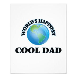 World's Happiest Cool Dad 11.5 Cm X 14 Cm Flyer