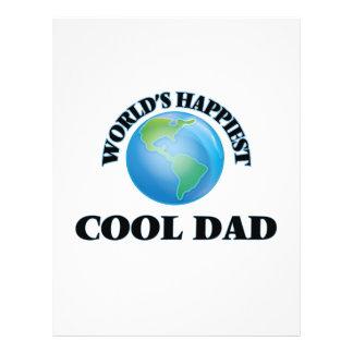 World's Happiest Cool Dad 21.5 Cm X 28 Cm Flyer
