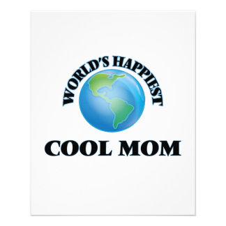 World's Happiest Cool Mom 11.5 Cm X 14 Cm Flyer